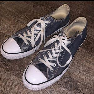 Grey Converse mens size 10.5